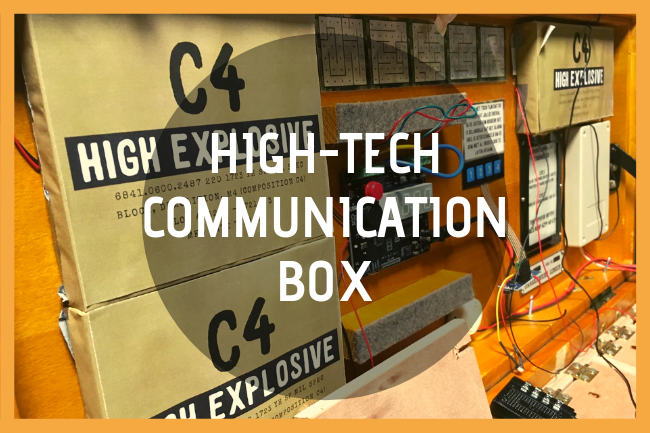 High Tech Com. Box